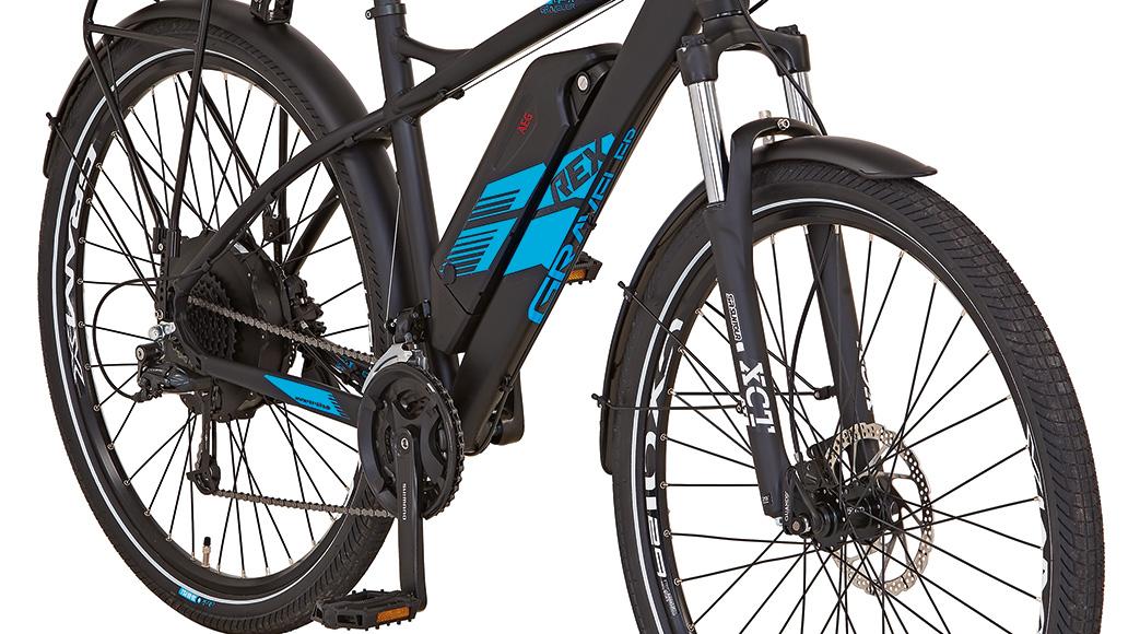 Rex Graveler e9.6, Test, E-Bike