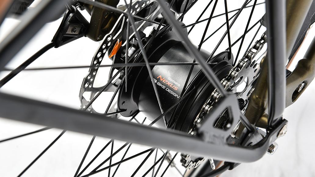 Velo de Ville AEB 800, Test, Fahrrad