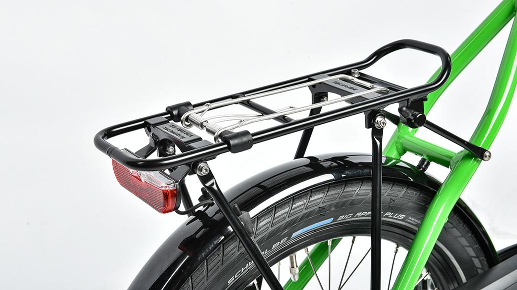 Velo de Ville KEB 800, Test, Fahrrad