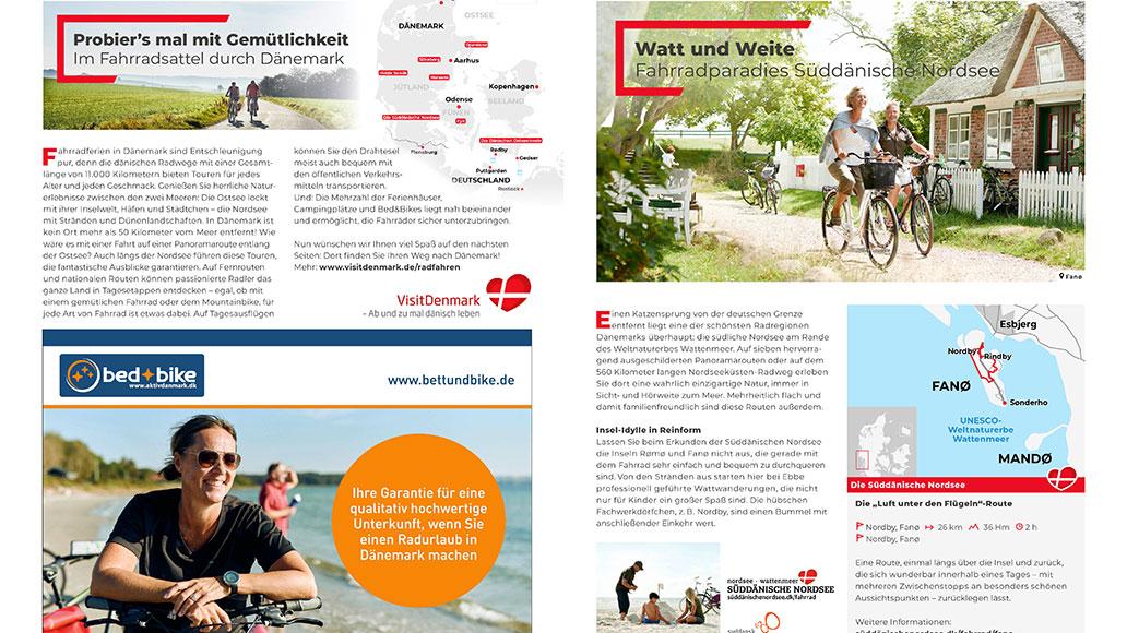 Dänemark ist ein Paradies für Radfahrer. Wir stellen die besten Destinationen vor.