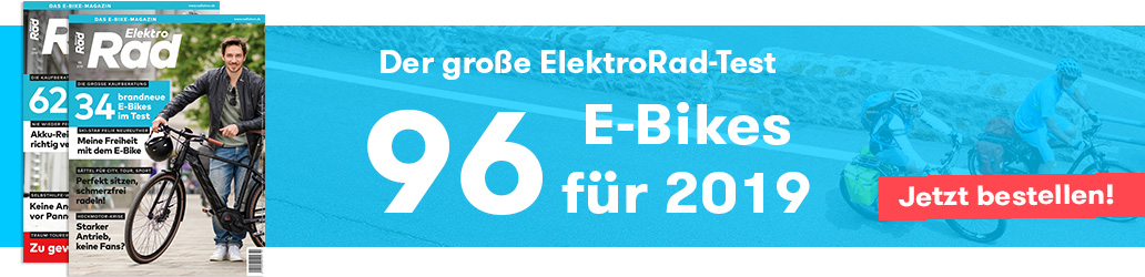 Banner, E-Bike-Test