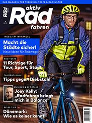 Die aktiv Radfahren 3/2019 ist ab 15. Februar 2019 im Handel.