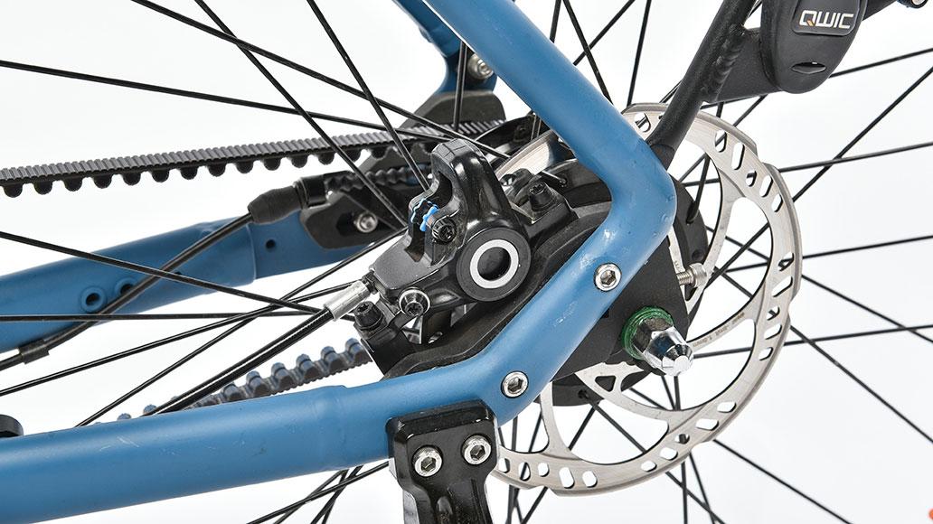 Qwic Premium MN7c, Test, E-Bike