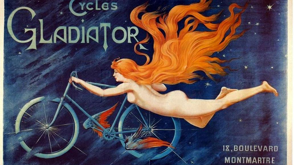 Werbeplakat aus dem Jahr 1905