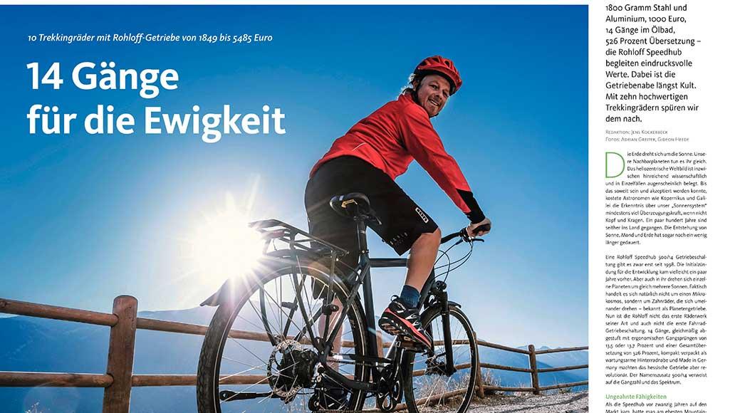 Test: Trekkingräder mit Rohloff-Getriebe