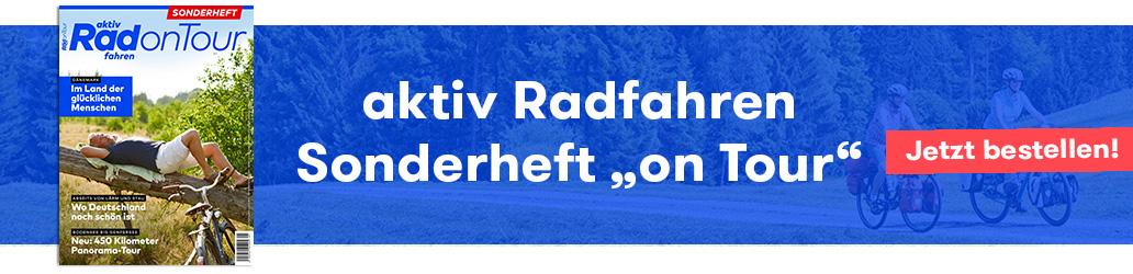 aktiv Radfahren, banner, rad on Tour