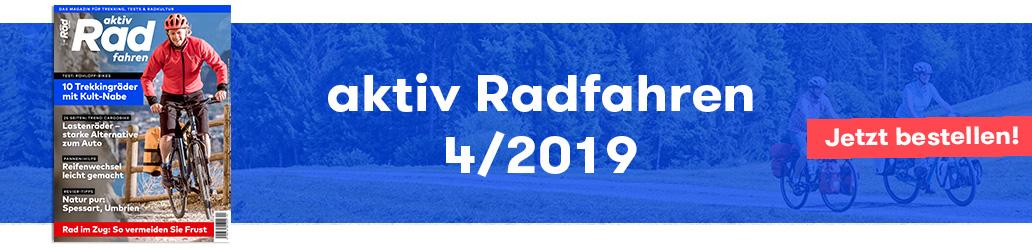 aktiv Radfahren, 4/2019, Banner, Heft