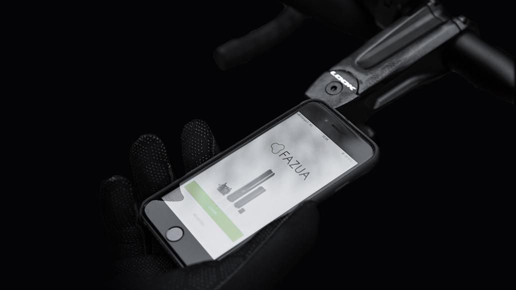 Digitale Erweiterung: Die Fazua-App bietet Motoreinstellungen, Akku-Informationen und Navigation.