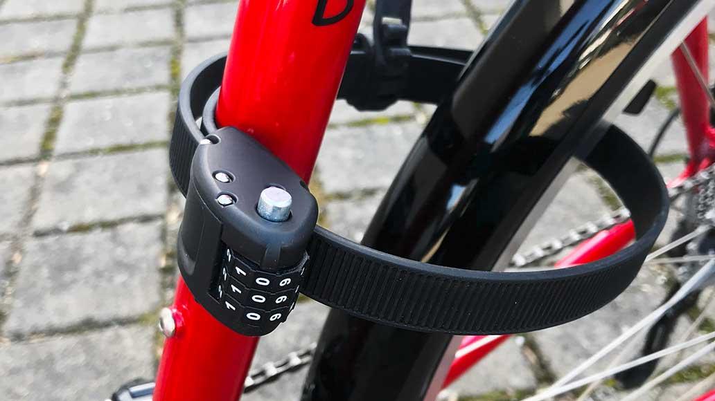 Fahrradschloss Diebstahlschutz Sicherheit Code Zahlenschloss Stahl Fahrrad