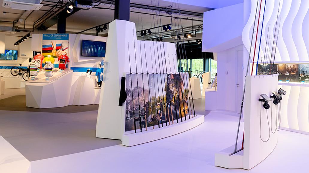Hypermodern und voller neuer Technologien: Das Shimano Experience Center lädt zum Staunen ein.