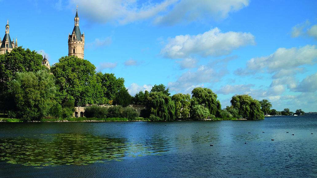 E-Bike-Touren zum Schloss Schwerin