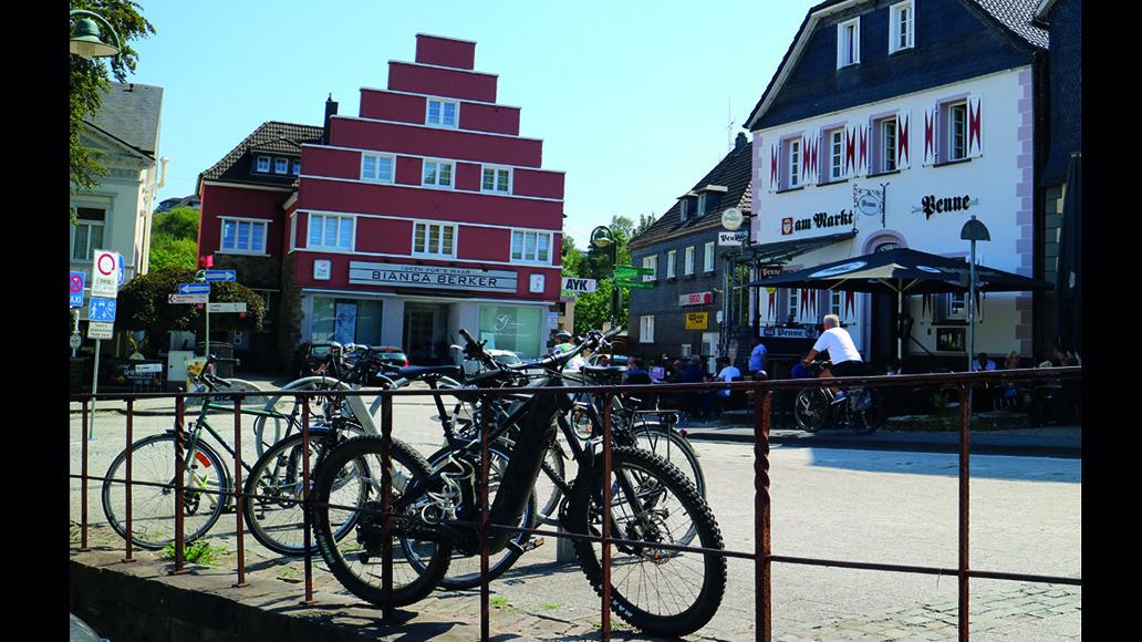 E-Bike-Touren im Bergischen Land: Radlertreff in Wipperfürth