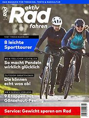 Die aktiv Radfahren 5/2019 ist ab 18. April 2019 im Handel.