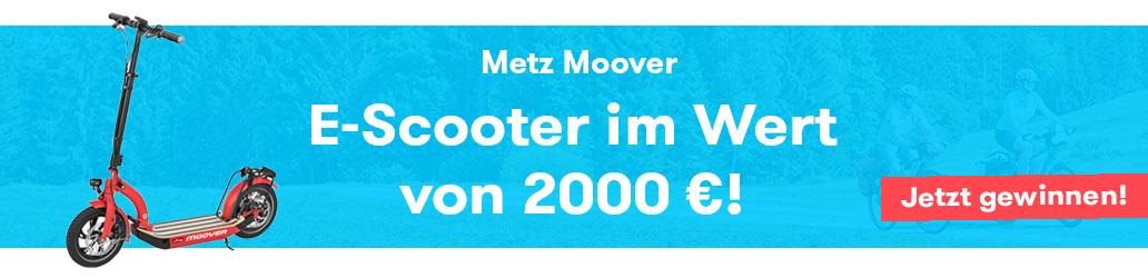 Metz Moover, Gewinnspiel, Banner