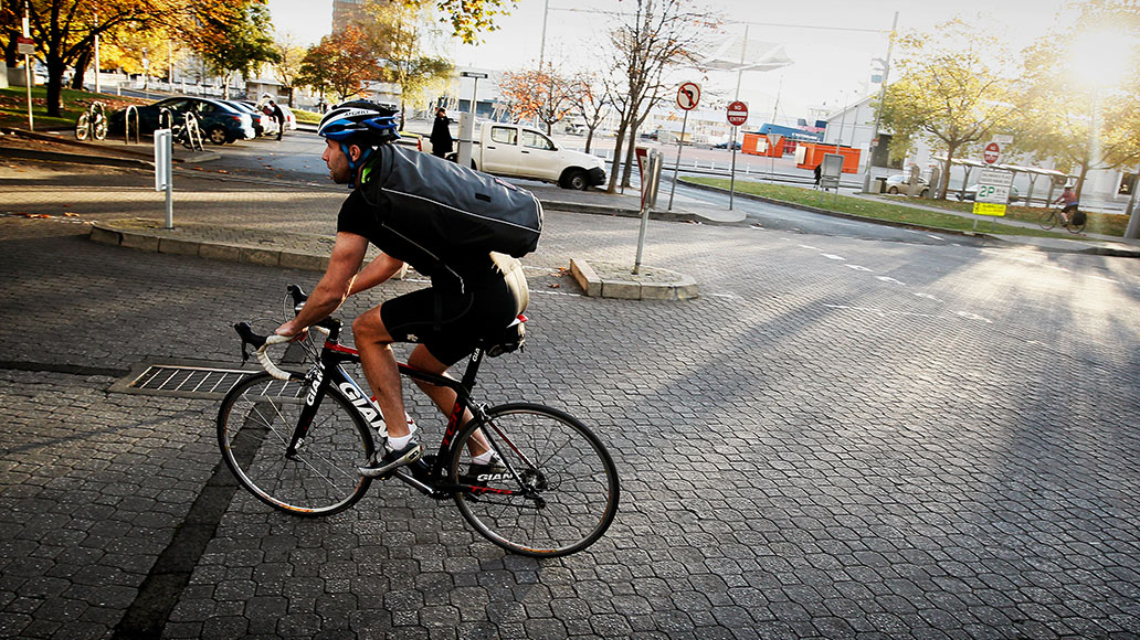 Pendeln, Fahrrad