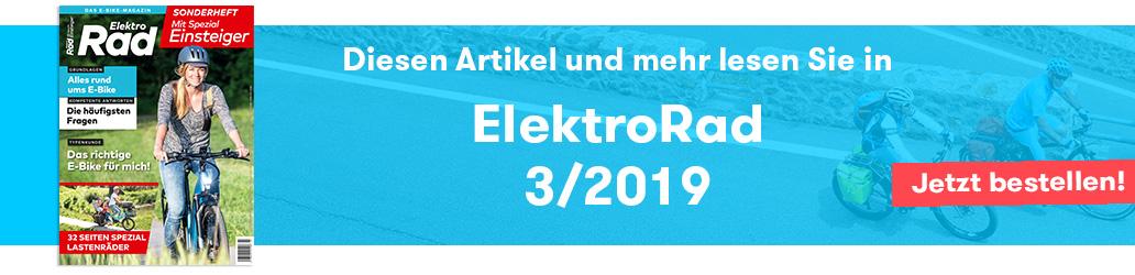 ElektroRad 3/2019, Einsteiger-Spezial