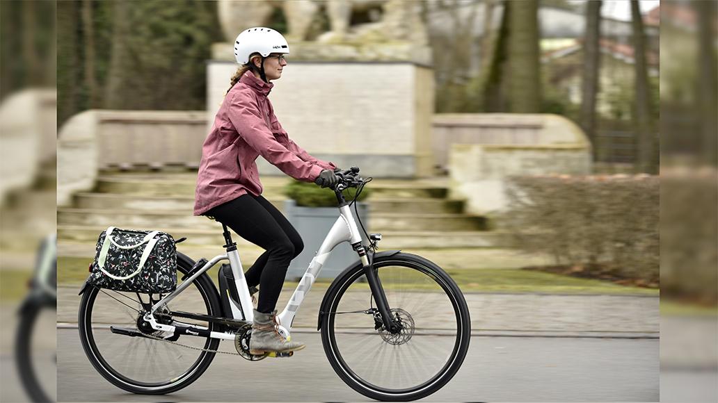 Sind Sie eher in der STadt unterwegs? Dann ist ein City-Rad die richtige Wahl.
