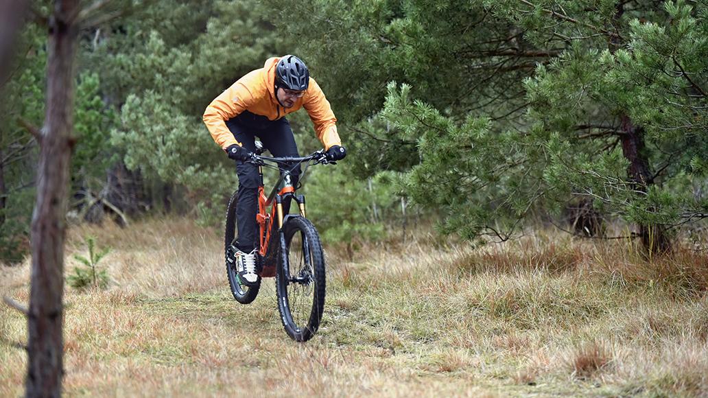 Mit einem E-Mountainbike geht es durchaus sportlich zur Sache!