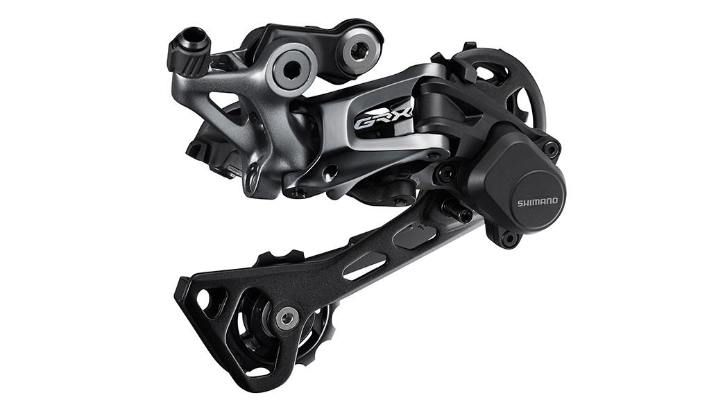 … GRX 600 (hier mit Shadow RD+ Technologie für stark vermindertes Kettenschlagen), …