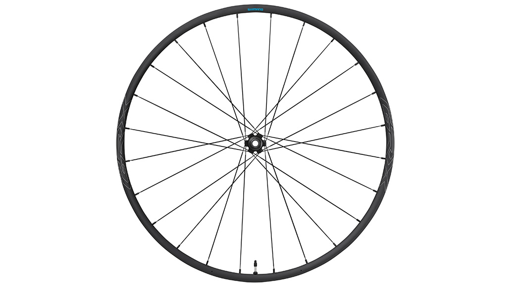 Ganz Shimano typisch bringen die Japaner auch einen passenden Laufradsatz. Dieser wird in den Größen 650B und 28 Zoll erhältlich sein.