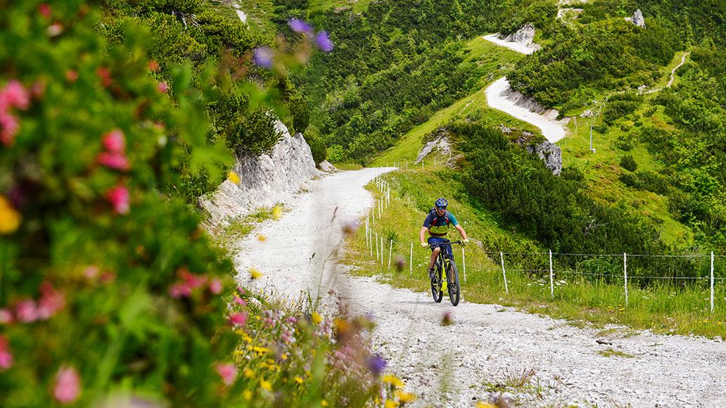 Eine Landschaft wie aus dem alpinen Bilderbuch.