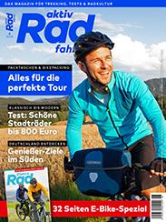 Die aktiv Radfahren 6/2019 ist ab 24. Mai 2019 im Handel.