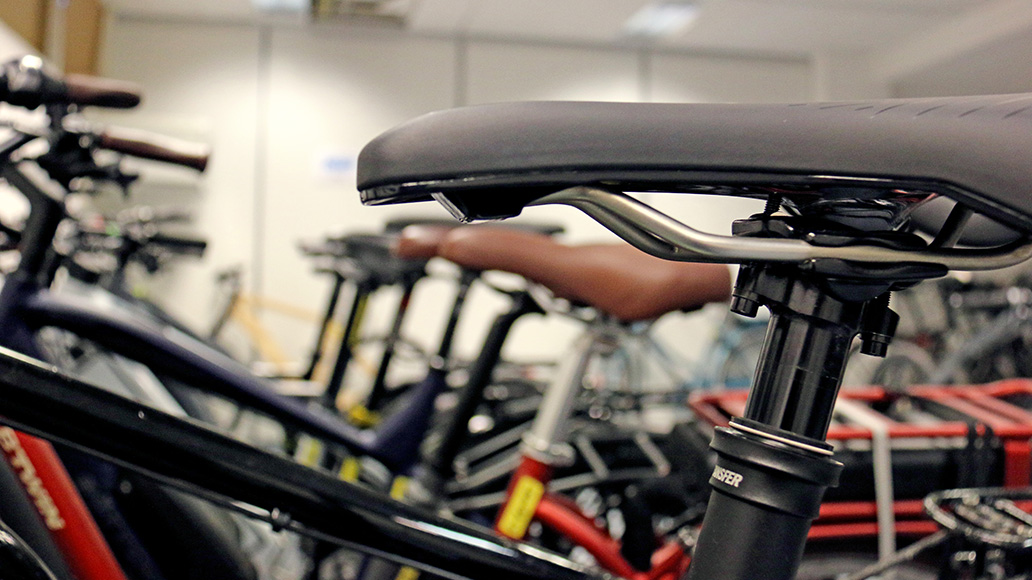 E-Bike-Sattel-Test