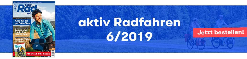aktiv Radfahren 6/2019, Inhalte