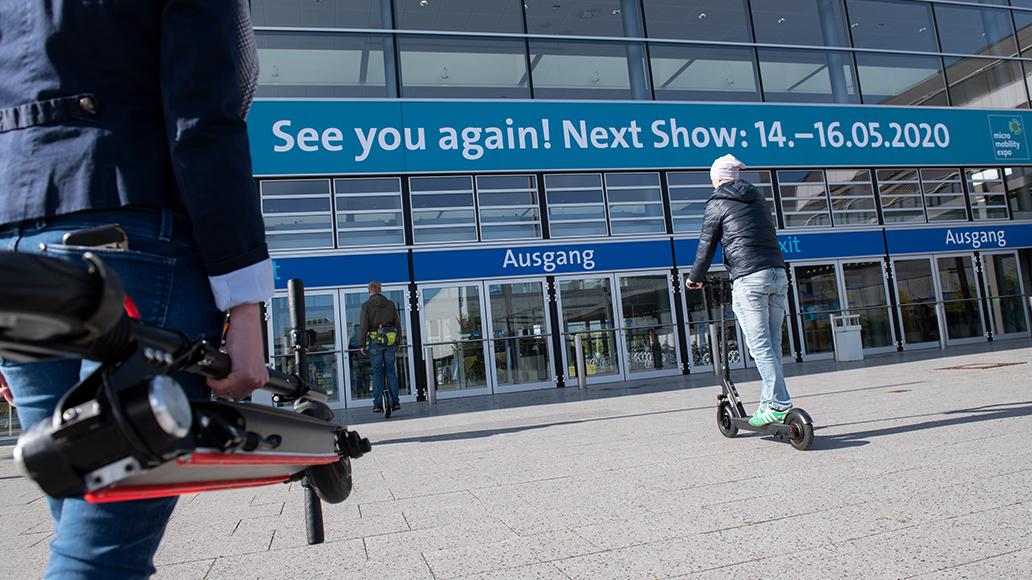 Nächste Micromobility Expo: 14. bis 16. Mai 2020.