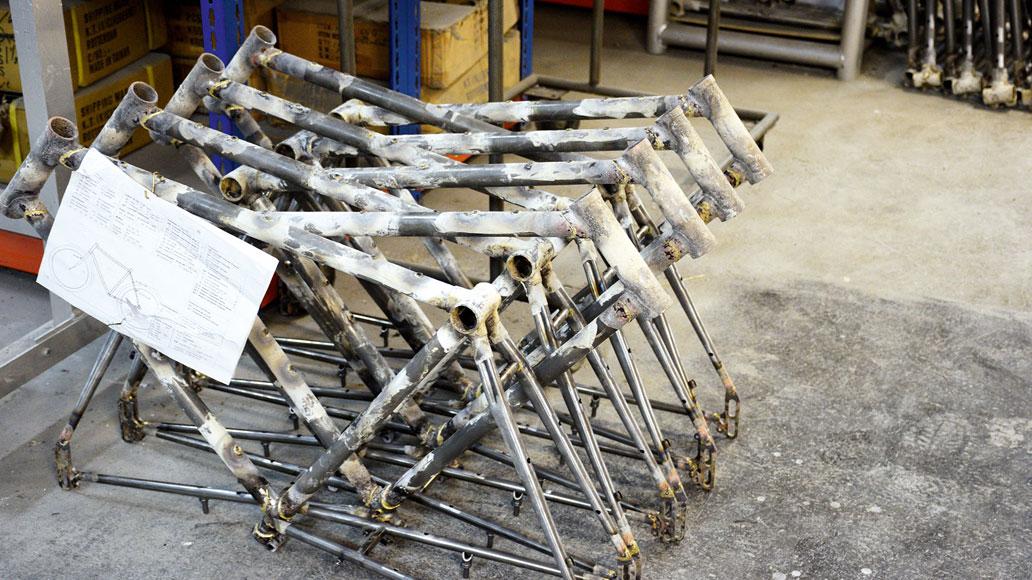 Patria, Fahrräder, Fahrradrahmen, Ostwestfalen, Made in Germany