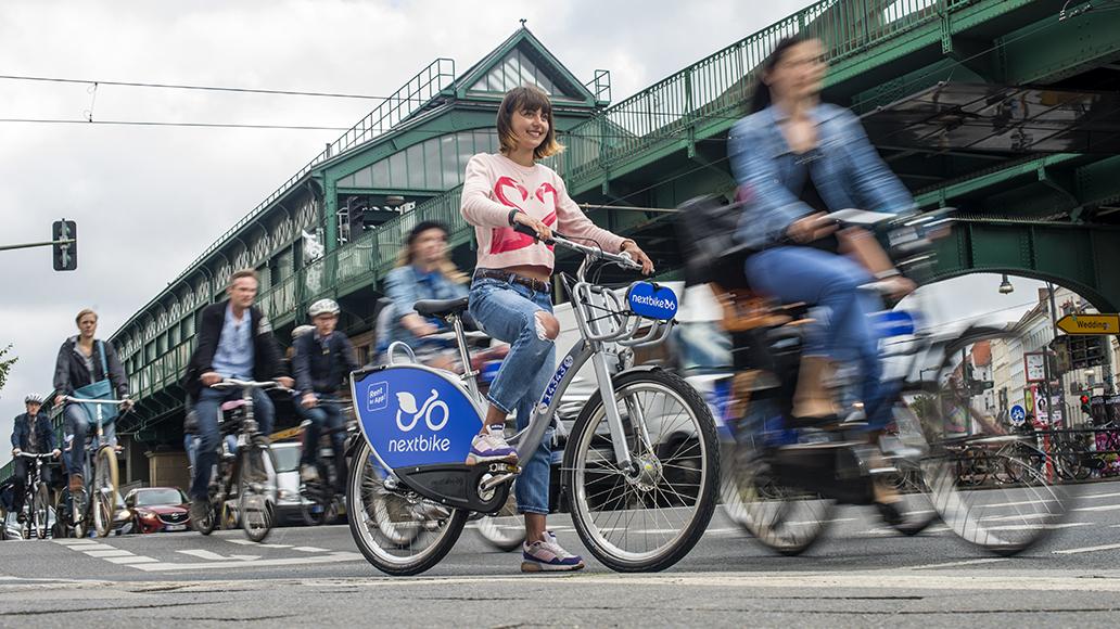 Nach dem zu Fuß gehen die günstigste Möglichkeit, in der Stadt mobil zu sein: Das Leihfahrrad.