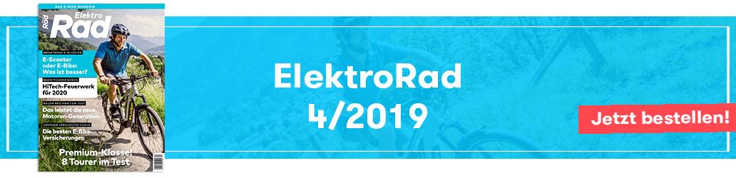ElektroRad 4/2019, Banner, Ausgabe