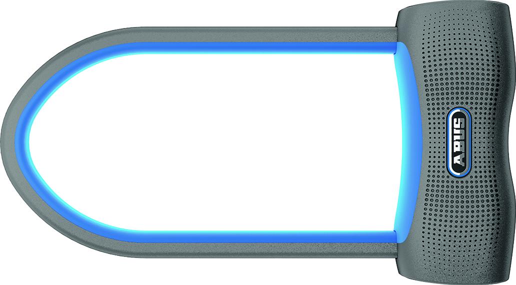 Abus: Das SmartX ist ein Bügelschloss, dass komplett schlüssellos via Bluetooth und App funktioniert.