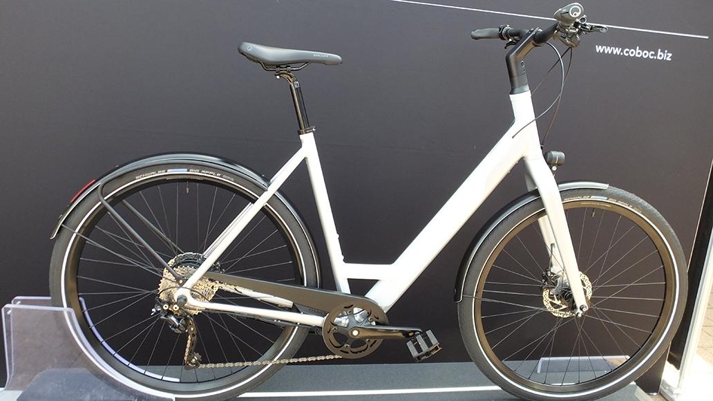 Das Coboc Kallio ist das erste Coboc-Rad mit Tiefeinsteiger-Rahmen.