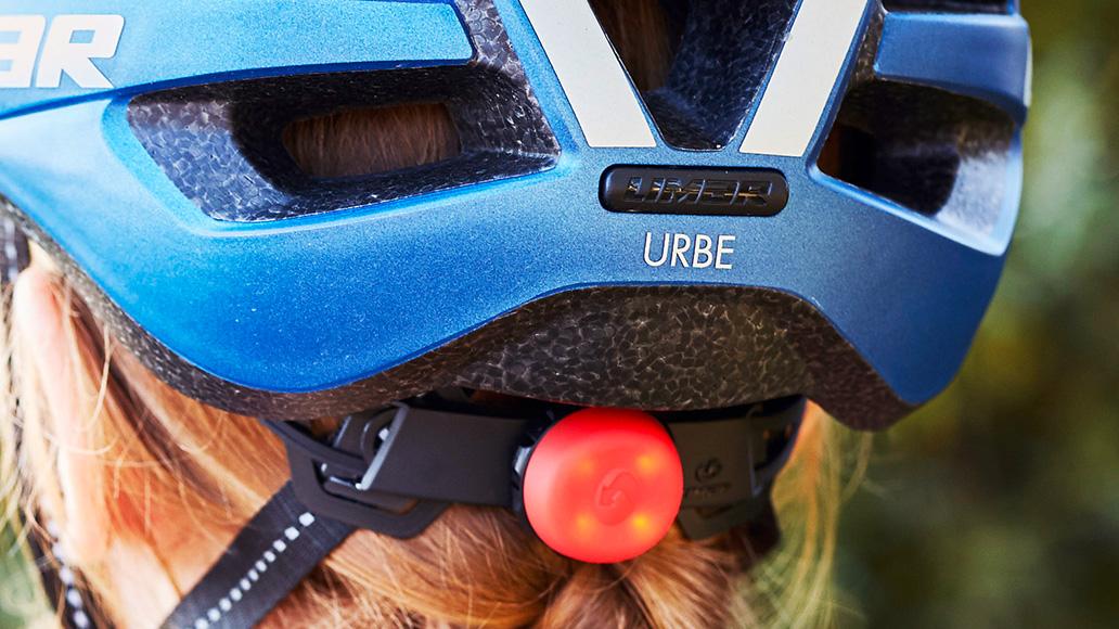 Toll: Ein eingebautes LED-Licht und Reflektoren erhöhen die Sichtbarkeit.