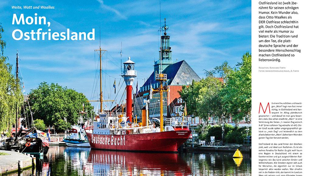 Reise: Radfahren in Ostfriesland