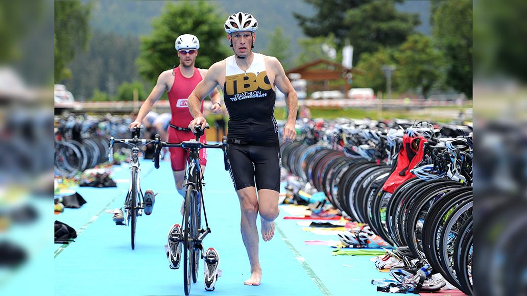Triathlon: Dreifache Herausforderung auf der olympischen Distanz.