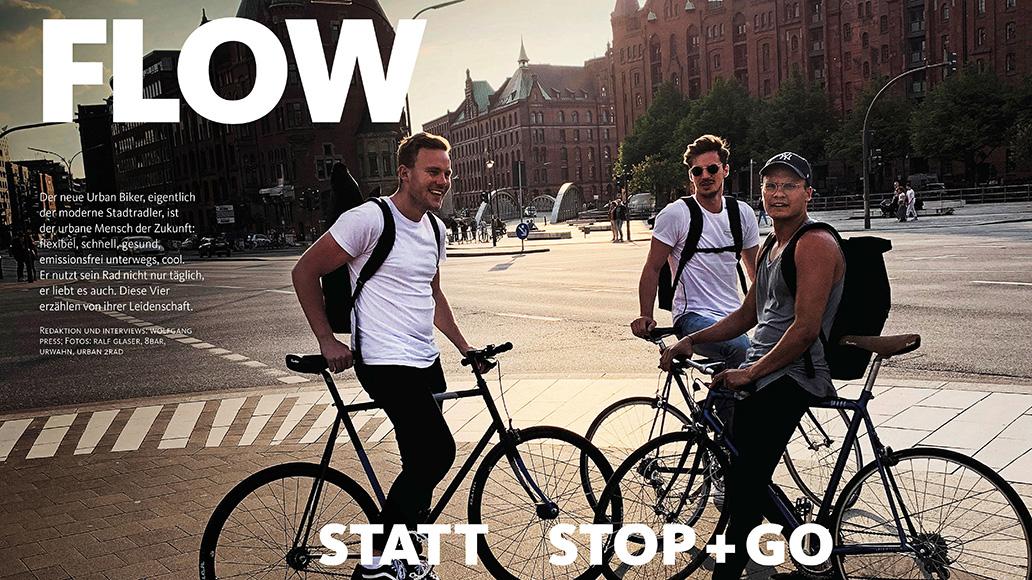 Report: Stadtradler und ihre Leidenschaft