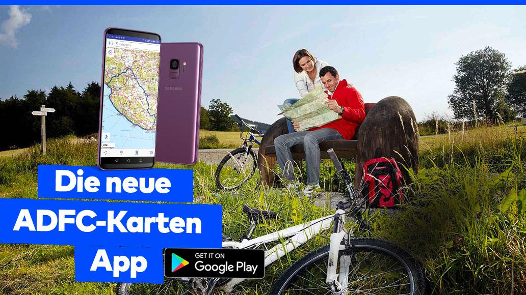 ADFC-Karten-App, Android, Neuheite