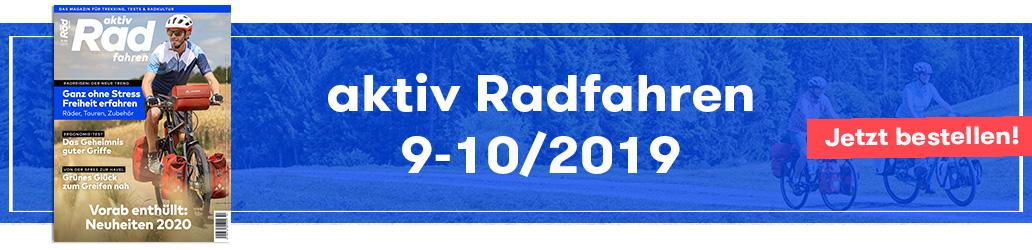 aktiv Radfahren 9-10/2019, Shop, Banner