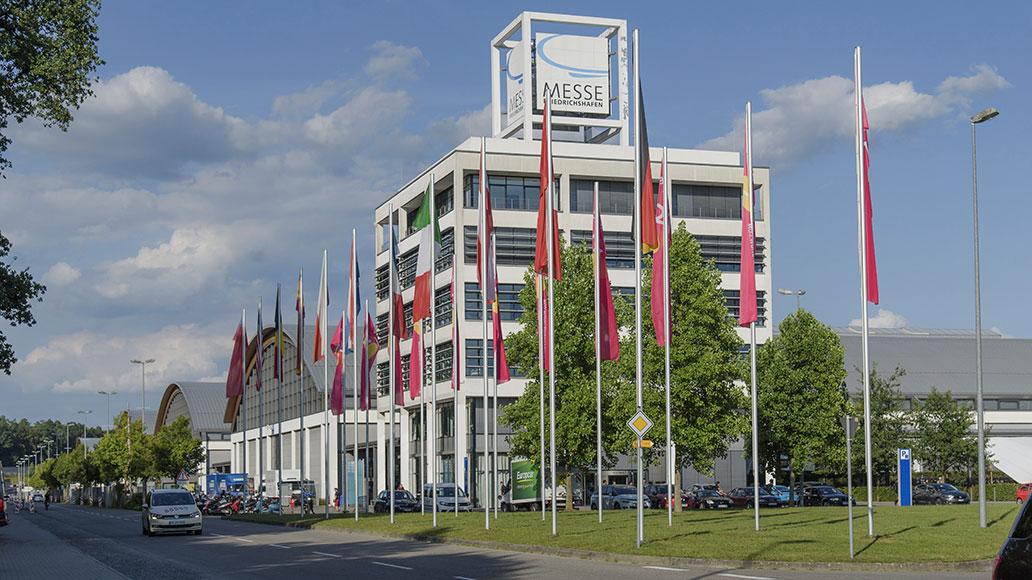 Eurobike, Messe Friedrichshafen