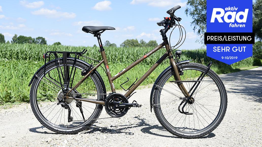 VSF Fahrradmanufaktur TX 400, Reiseräder, Test, Kaufberatung