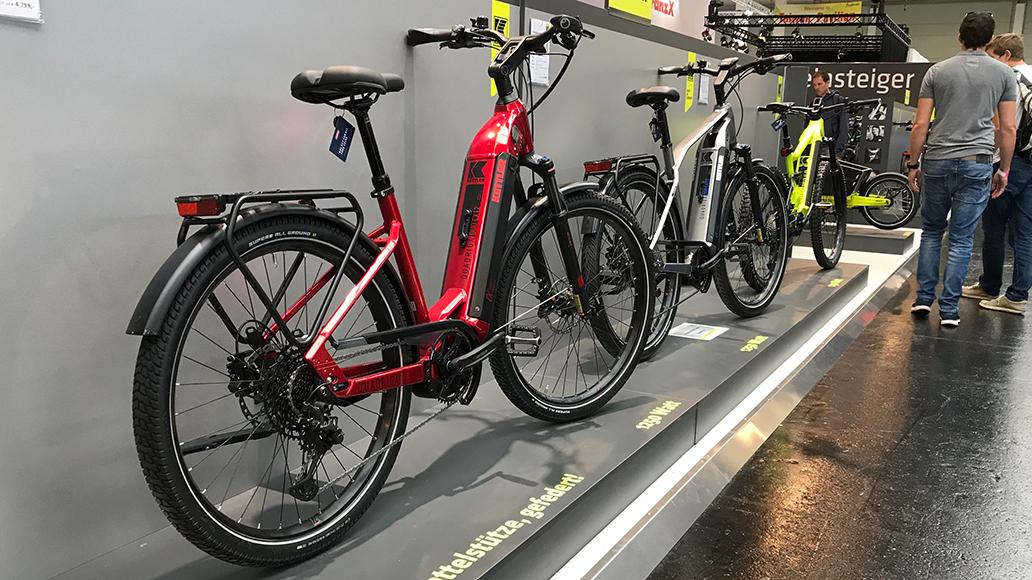 Quadriga Duo heißen die Kettler-Alu-Räder mit Doppelakku im Unterrohr.