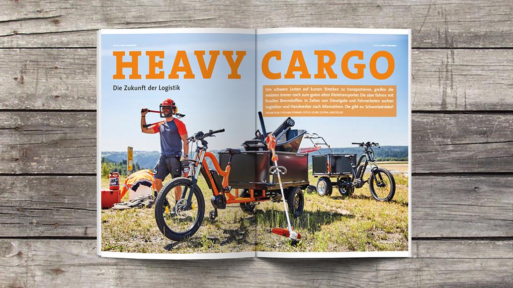 Blick ins Heft: Schwerlasträder