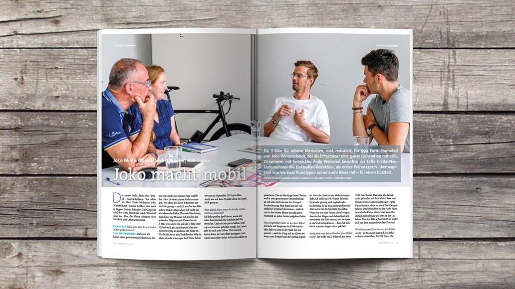 Blick ins Heft: Joko Winterscheidt