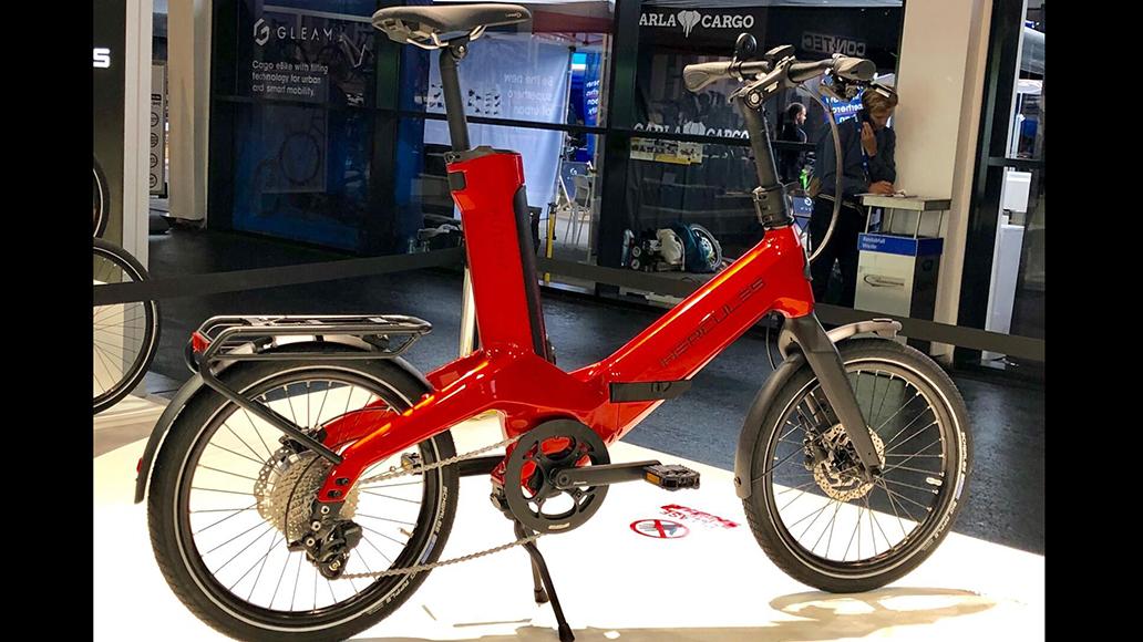Hercules-Faltrad aus Carbon mit Fazua-Antrieb.