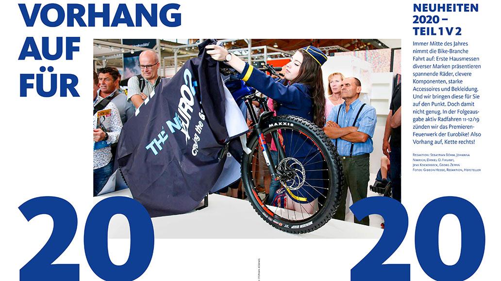 Neuheiten 2020: Vorhang auf!