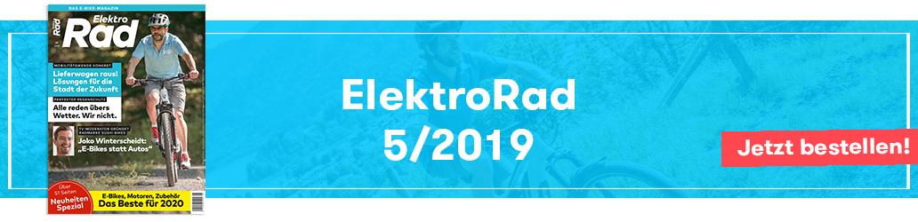 ElektroRad-Ausgabe 5/2019, Banner