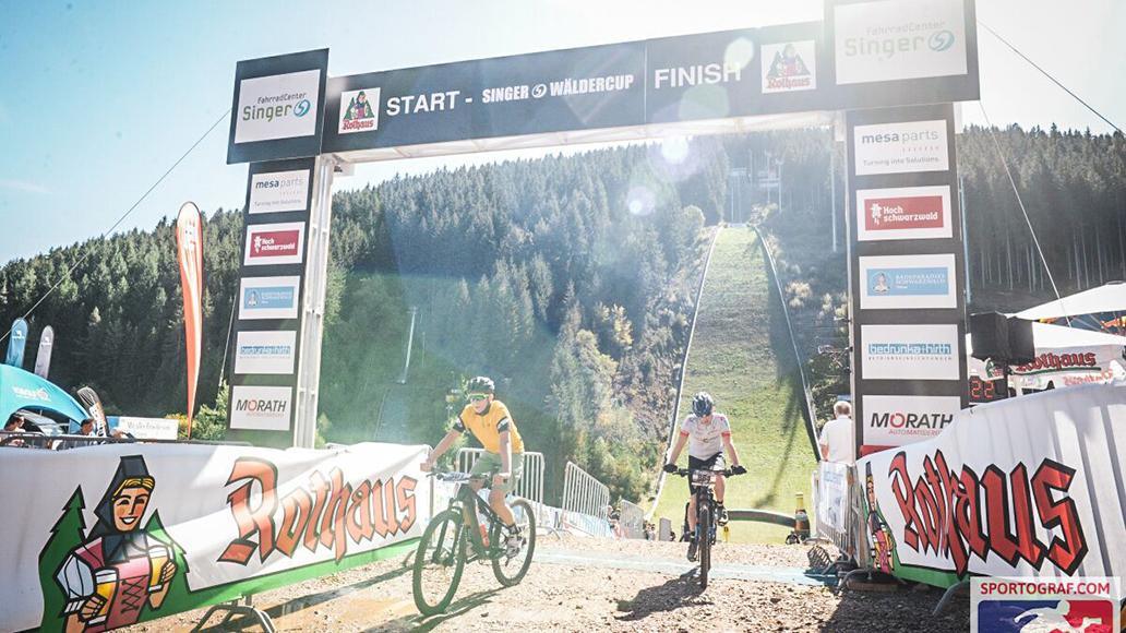 Endlich Sport: Die Ziellinie des Trail Hype
