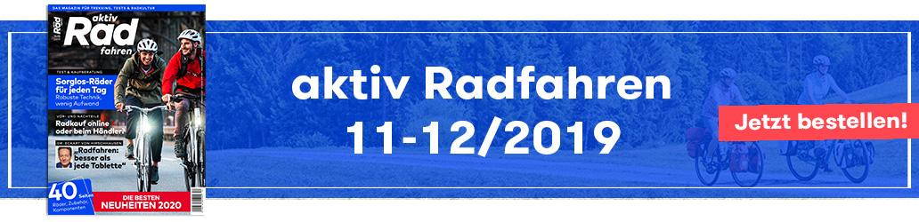 Shop, Banner, aktiv Radfahren 11-12/2019